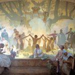 Il diciottesimo dipinto dell'Epopea slava, realizzato nel 1926