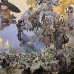 Il secondo quadro dell'Epopea Slava di Alfons Mucha