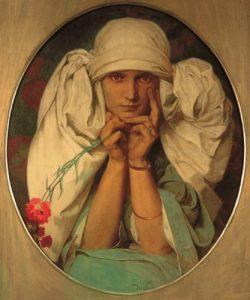 La figlia di Mucha, Jaroslava