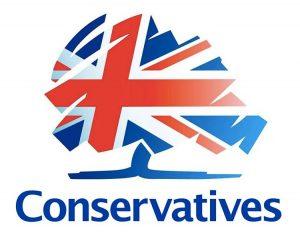 Lo stemma dei Conservatori, attualmente il più rappresentativo tra i partiti politici inglesi