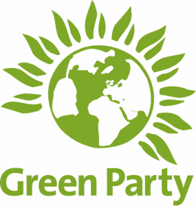 Lo stemma del Green Party inglese e gallese