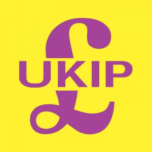 Lo stemma dell'UKIP, il Partito per l'Indipendenza del Regno Unito