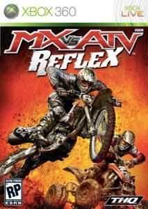La copertina di MX vs. ATV Reflex, bel videogioco di motocross del 2009