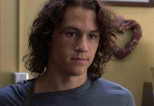 Un giovane Heath Ledger in 10 cose che odio di te, uno dei film anni '90 per ragazzi più famosi