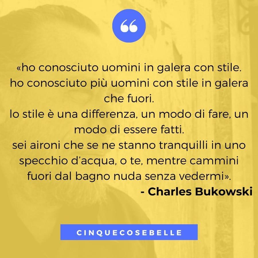 Da Stile di Charles Bukowski