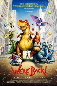 We're Back, simpatico cartone sui dinosauri