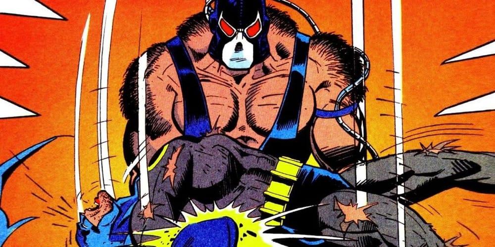 La famosa scena in cui Bane spezzò la schiena a Batman