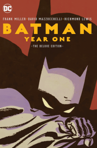 La copertina di Batman Year One