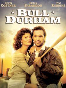 Bull Durham, film sul baseball con Kevin Costner, Susan Sarandon e Tim Robbins