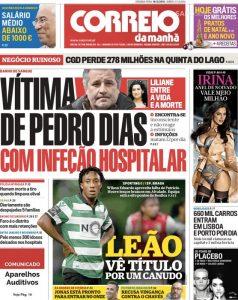 Correio da Manhã, tabloid generalista che dedica grande spazio al calcio