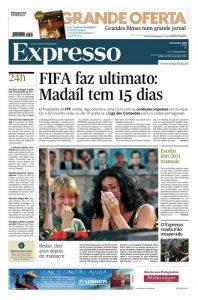 Expresso, giornale più serio con un'ampia sezione – Tribuna – dedicata agli sport