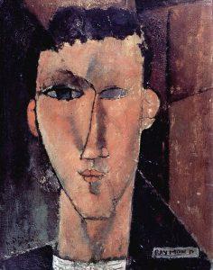 Ritratto di Raymond di Amedeo Modigliani