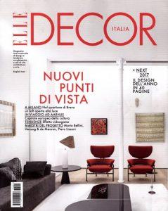 La versione italiana di Elle Decor