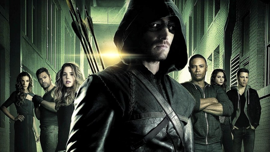 Arrow e i suoi comprimari