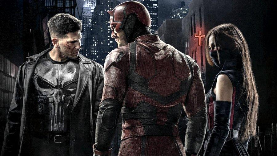 Daredevil, il Punitore ed Elektra