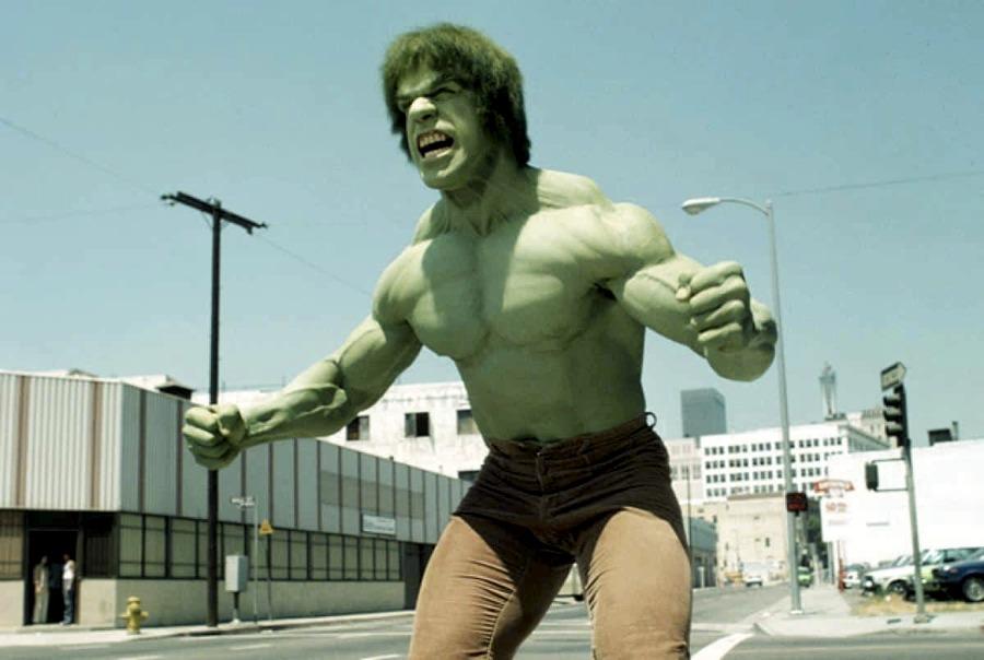 Lou Ferrigno nei panni di Hulk