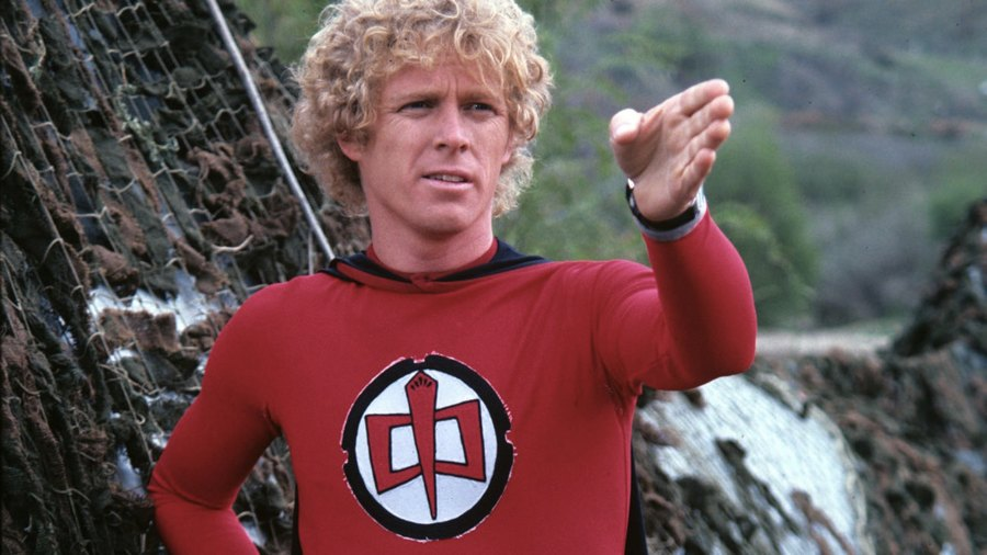 William Katt nei panni di Ralph, il supermaxieroe