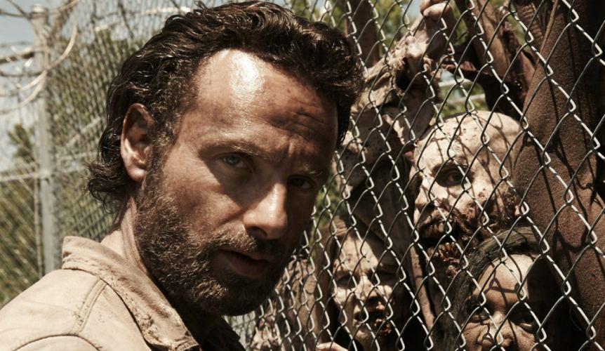 Andrew Lincoln, forse il più famoso tra gli attori di The Walking Dead