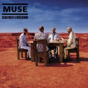 La copertina di Black Holes and Revelations dei Muse, che contiene Map of the Problematique