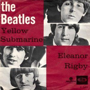 Il 45 giri di Yellow Submarine e Eleanor Rigby dei Beatles