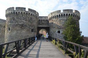 La fortezza Kalemegdan a Belgrado