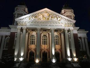 Il Teatro Nazionale Ivan Vazov a Sofia