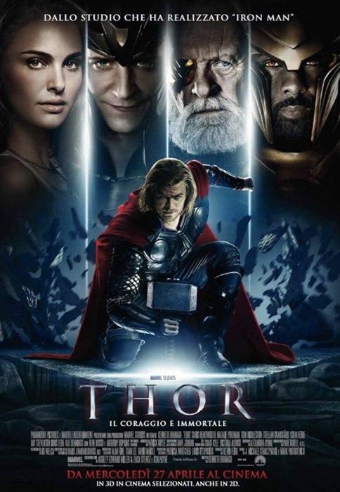 Thor, film che unisce supereroi e mitologia norrena