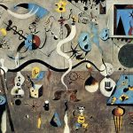 Il carnevale di Arlecchino, celebre quadro di Miró