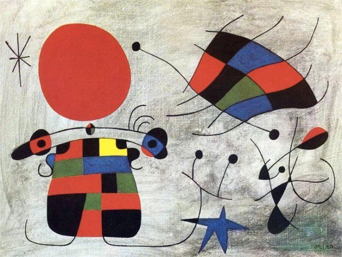 Il sorriso delle ali fiammeggianti di Joan Miró