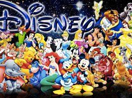 I principali personaggi dei cartoni animati Disney