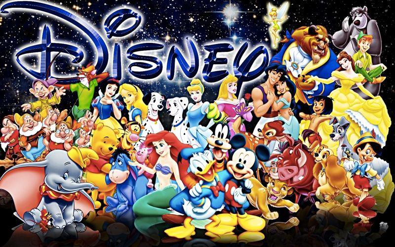 La lista dei personaggi cartoni animati disney
