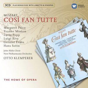 Così fan tutte, la terza opera italiana di Mozart