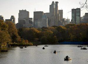 Barche a Central Park (foto di Ed Yourdon via Flickr)
