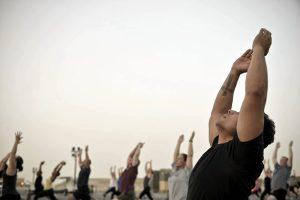 A Central Park si può anche fare yoga
