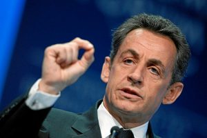 Nicolas Sarkozy, ex presidente francese, fotografato nel 2011 al World Economic Forum Annual Meeting di Davos (foto di Moritz Hager via Flickr)