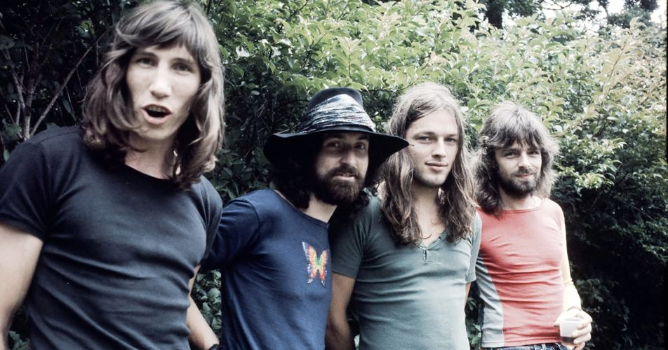 I Pink Floyd all'epoca dei loro massimi successi