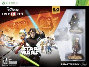 Personaggi di Star Wars all'interno di Disney Infinity, uno dei giochi dell'Xbox 360 per bambini più appassionanti