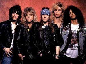 I Guns N' Roses negli anni '80