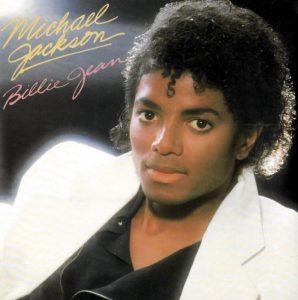 La copertina di Billie Jean di Michael Jackson