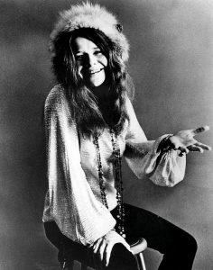 Janis Joplin fotografata pochi mesi prima della morte