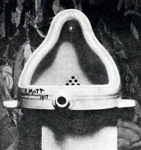 La foto originale della Fontana di Duchamp fatta da Alfred Stieglitz