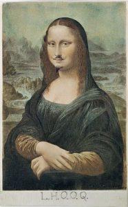 L.H.O.O.Q., ovvero la Gioconda coi baffi di Duchamp