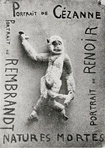 La creazione di Francis Picabia pubblicata a Parigi sul primo numero di Cannibale, nel 1920