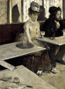 L'assenzio, uno dei più famosi quadri di Degas