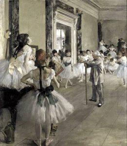 La classe di danza di Edgar Degas
