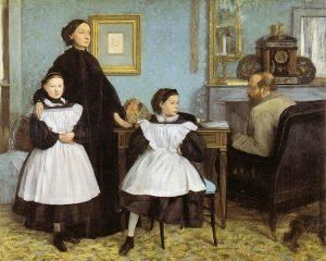 La famiglia Bellelli, di Edgar Degas