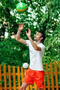 Il palleggio nella pallavolo
