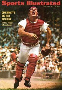 Johnny Bench nel 1970, sulla copertina di Sports Illustrated
