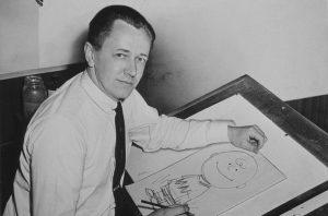 Charles M. Schulz nel 1956