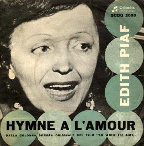 Edizione italiana di Hymne à l'amour di Édith Piaf